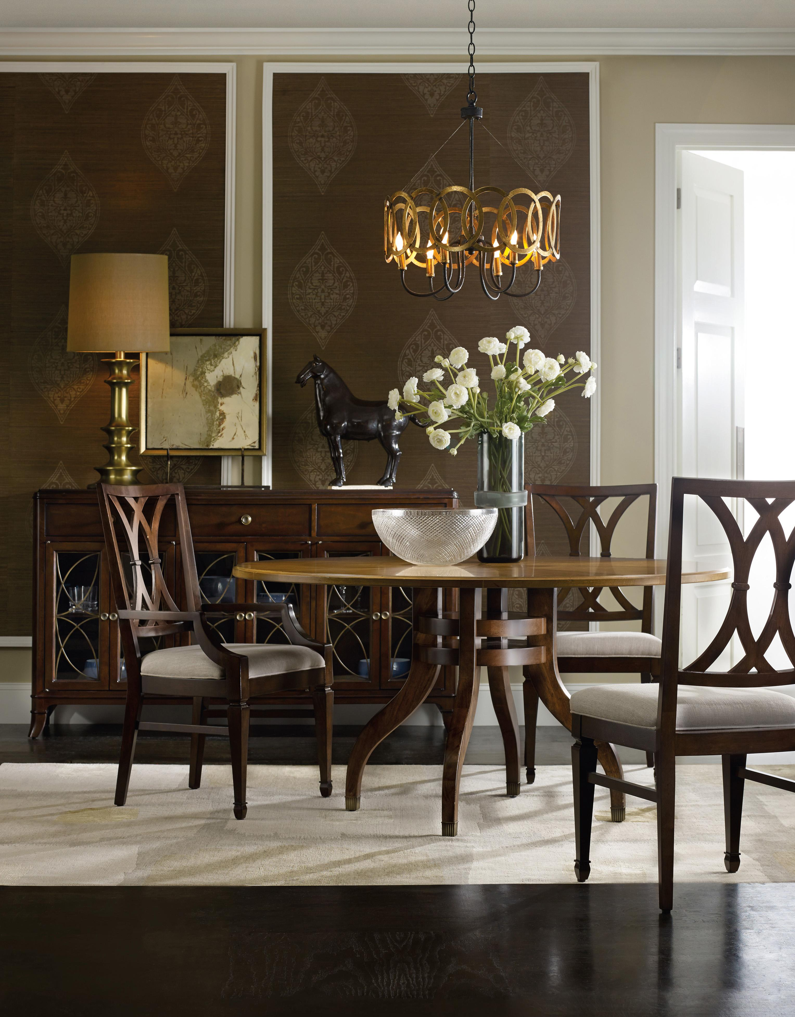 Hooker Furniture Palisade Formal Dining Room Group - Item Number: 5183 Dining Room Group 2