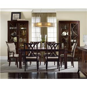 Hooker Furniture Palisade Formal Dining Room Group