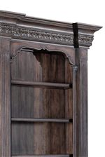 Breakfronts, Fluted Pilasters and Crown Moulded Case Tops