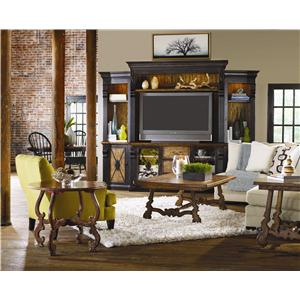 Hooker Furniture Sanctuary 4 Door, 3 Drawer Credenza