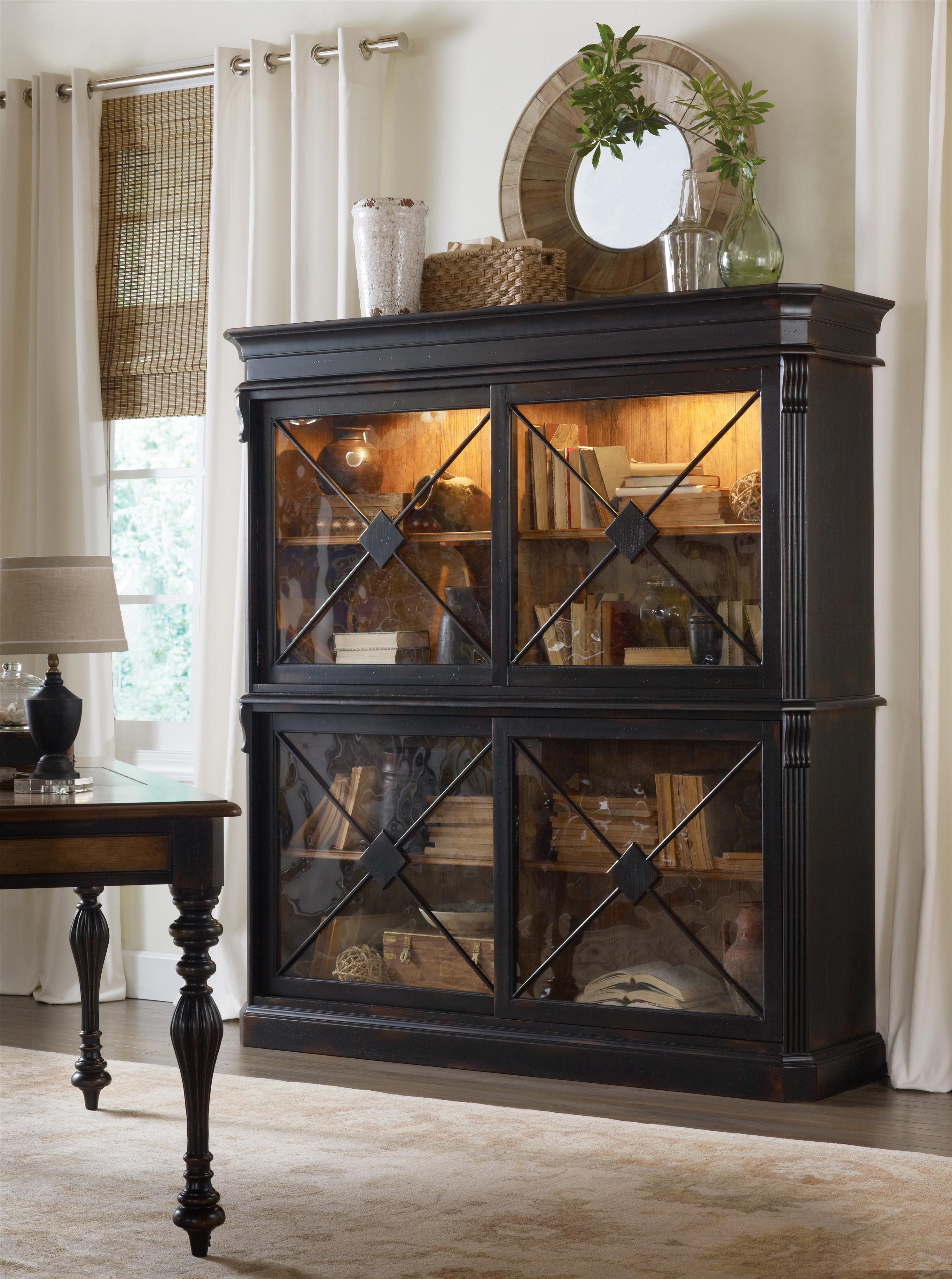 Superb Sanctuary Ebony By Hooker Furniture Sam Levitz Furniture Home Interior And Landscaping Mentranervesignezvosmurscom