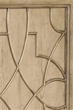 Fretwork Pattern on Door Fronts