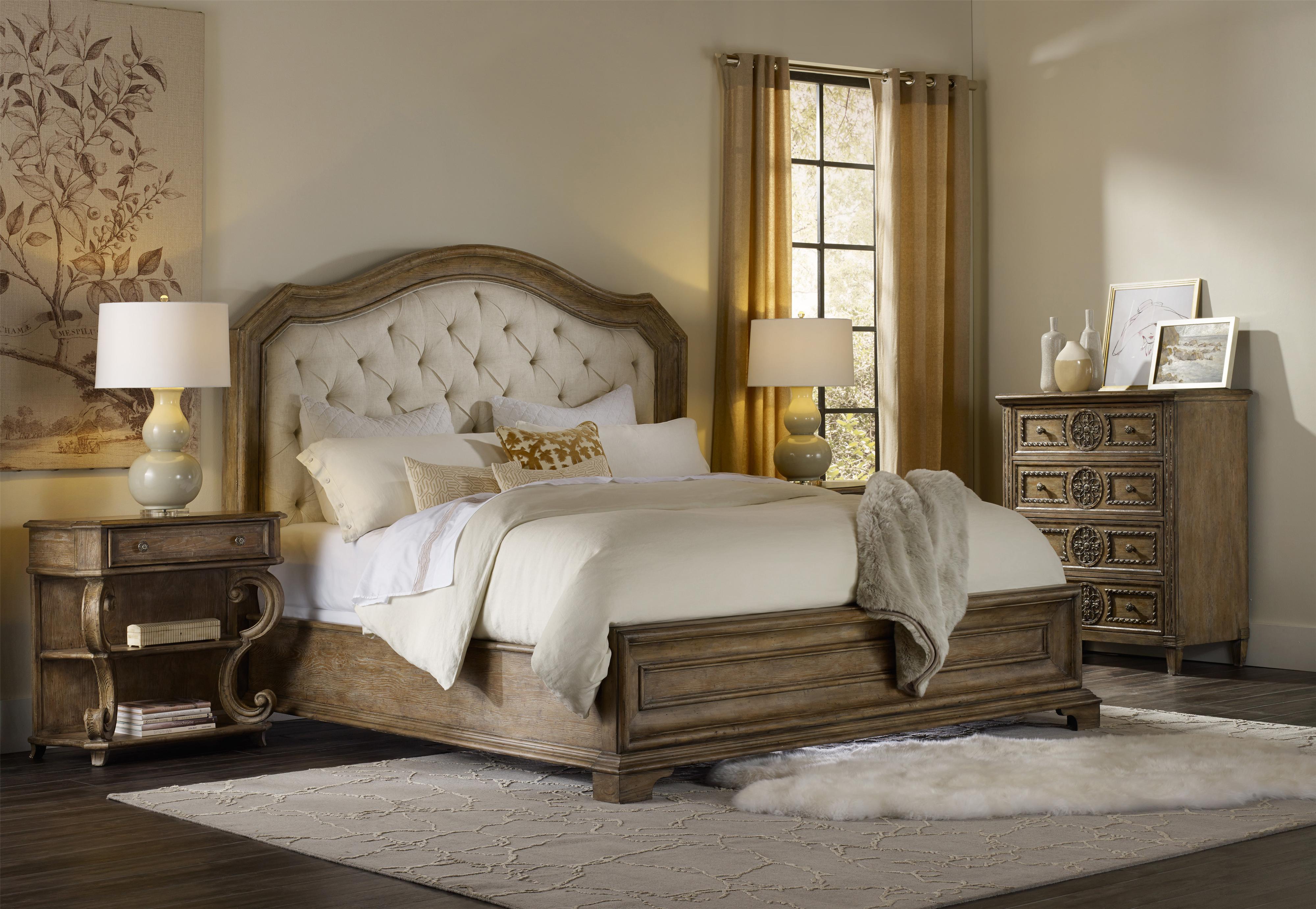 Hooker Furniture Solana King Bedroom Group 4 - Item Number: 5291 K Bedroom Group 4