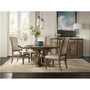 Hooker Furniture Solana Formal Dining Room Group