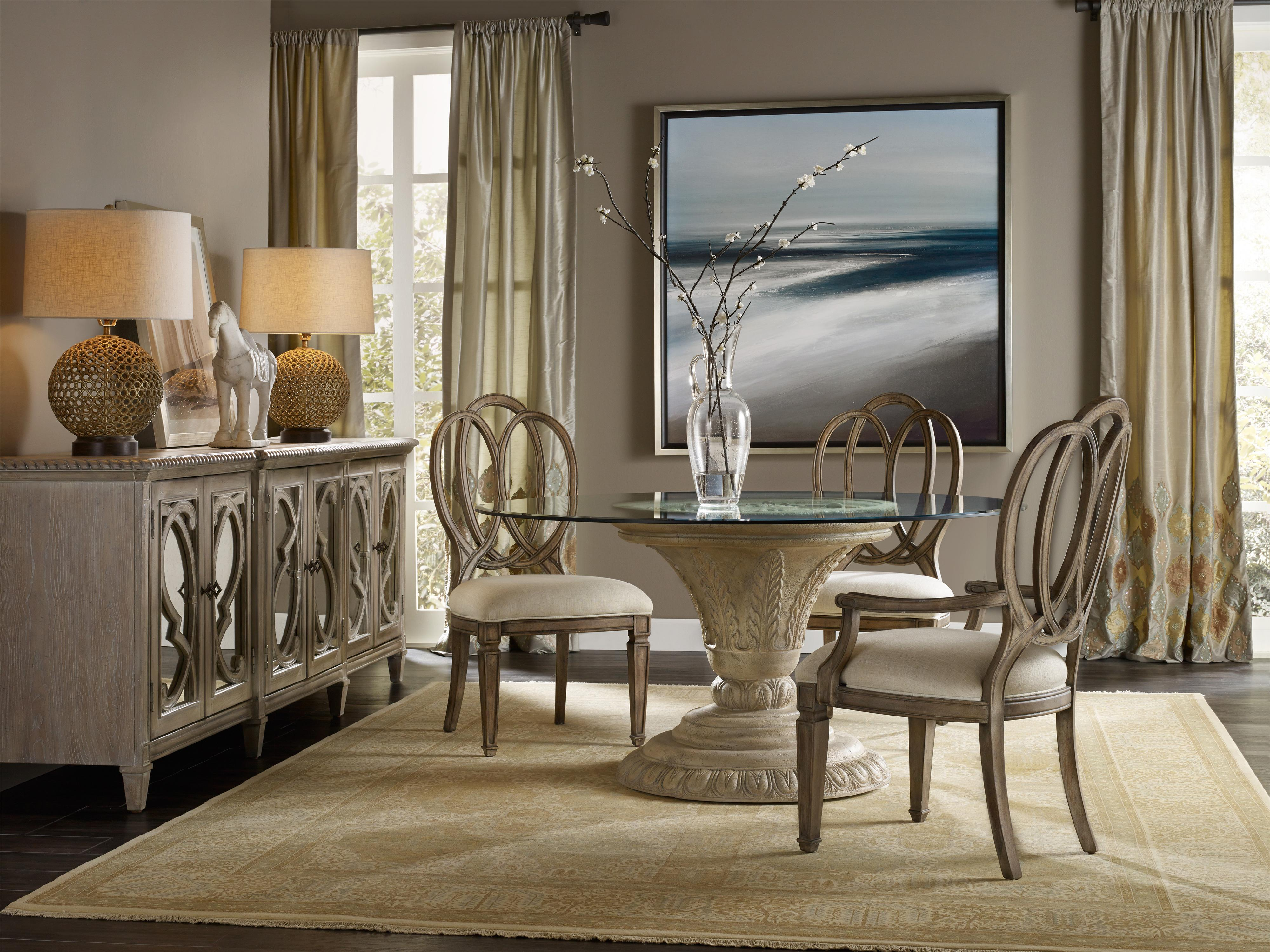 Hooker Furniture Solana Formal Dining Room Group - Item Number: 5291 F Dining Room 3