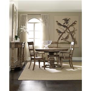 Hooker Furniture Sorella Formal Dining Room Group