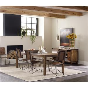 Hooker Furniture Studio 7H Formal Dining Room Group