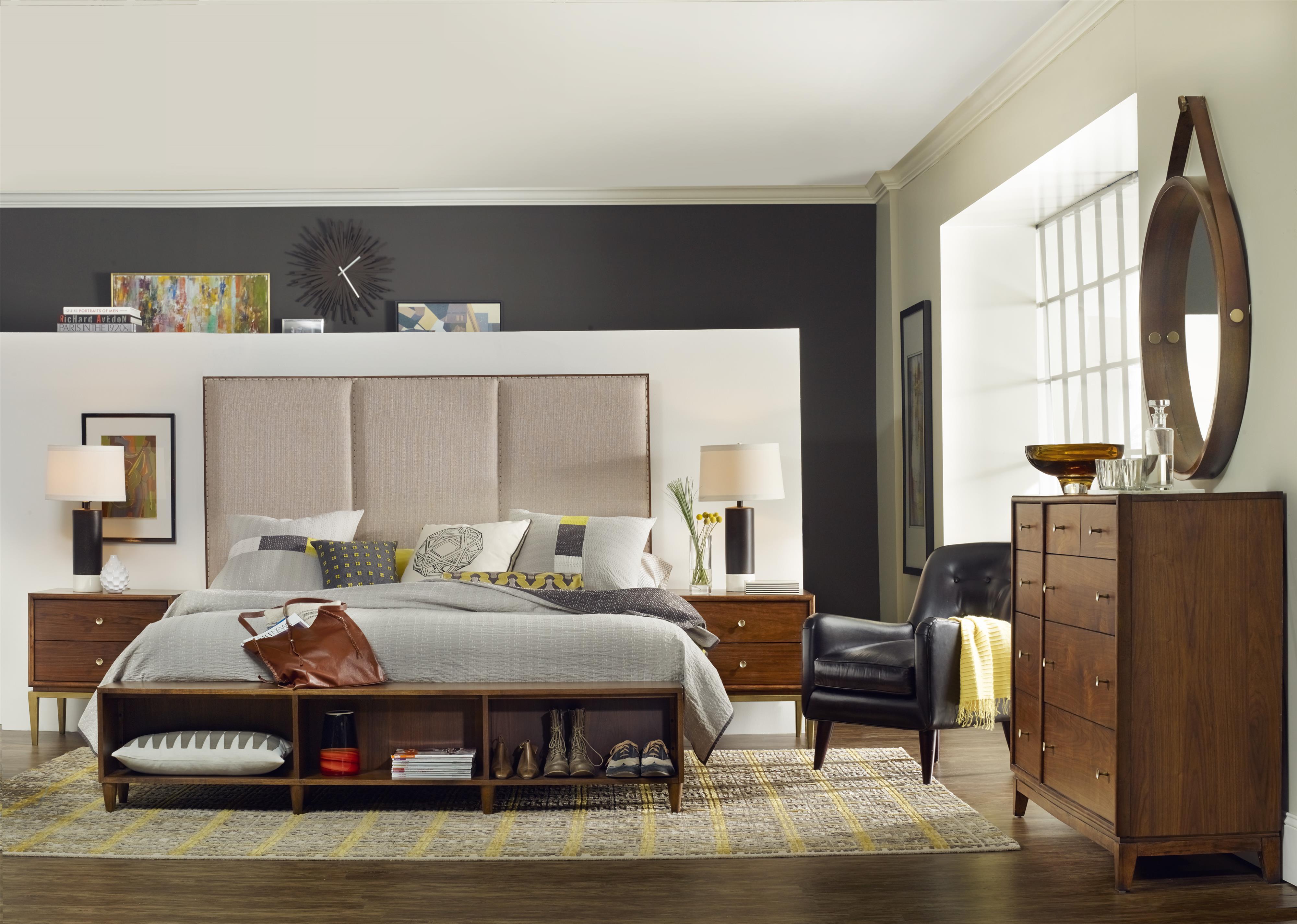Hooker Furniture Studio 7H King Bedroom Group - Item Number: 5398 K Bedroom Group 3