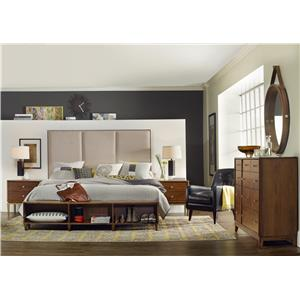 Hooker Furniture Studio 7H Queen Bedroom Group