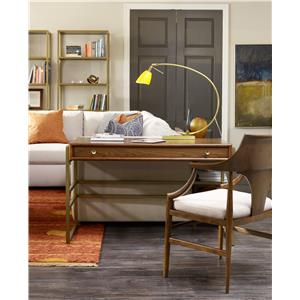 Hooker Furniture Studio 7H Final Draft Writing Desk with Metal Frame