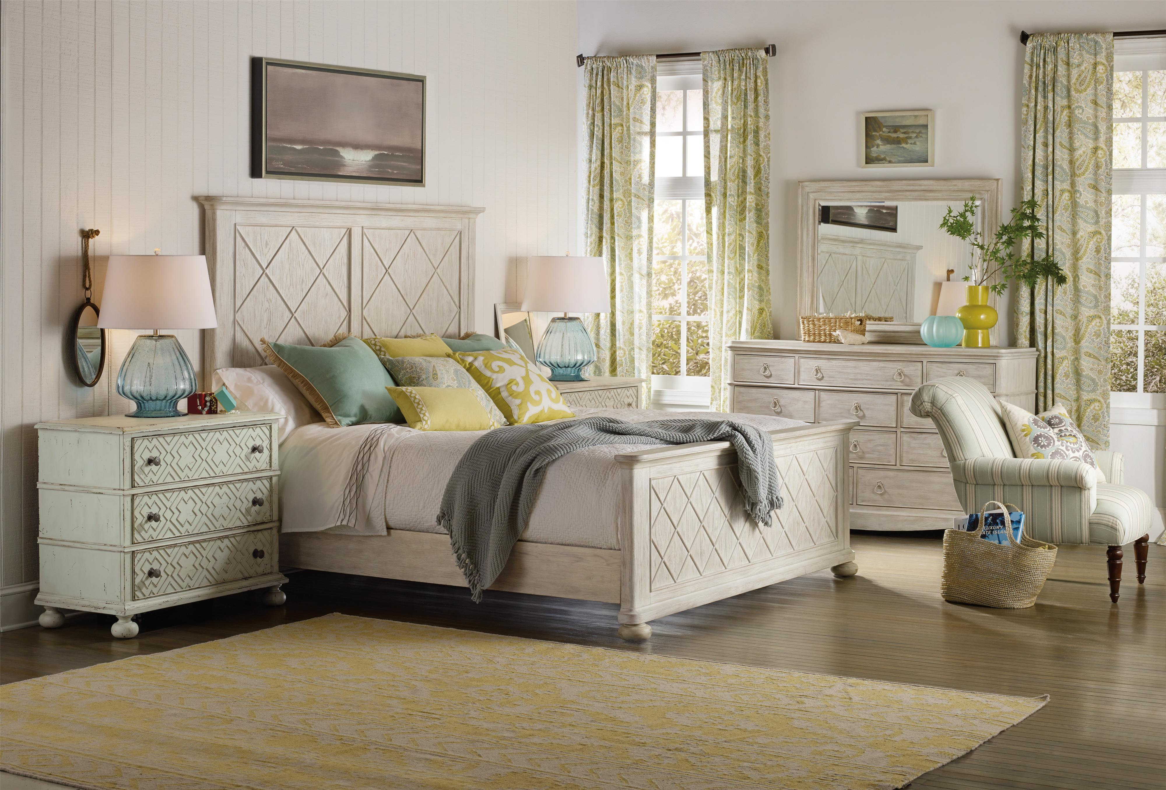 Hooker Furniture Sunset Point Queen Bedroom Group - Item Number: 5325 Q Bedroom Group 1