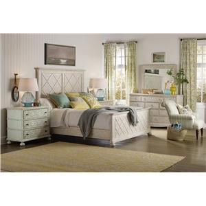 Hooker Furniture Sunset Point King Bedroom Group