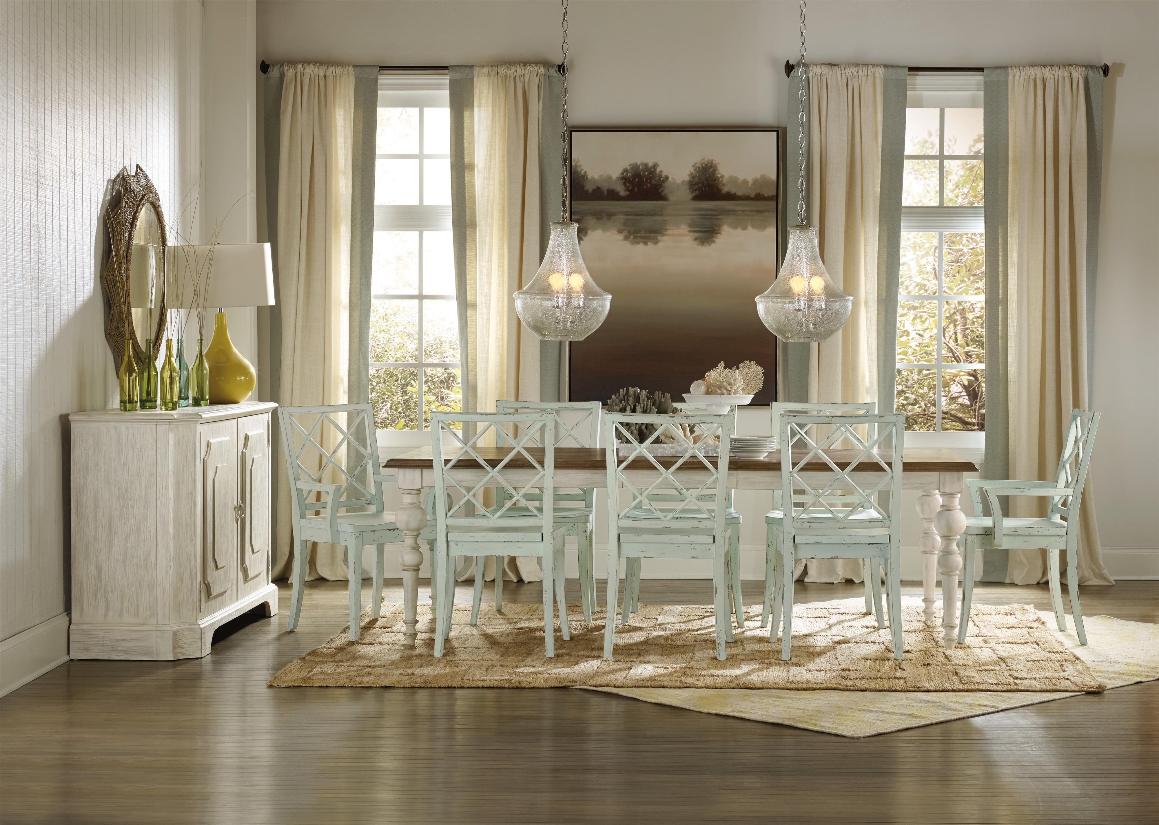 Hooker Furniture Sunset Point Formal Dining Room Group - Item Number: 5325 Dining Room Group 1