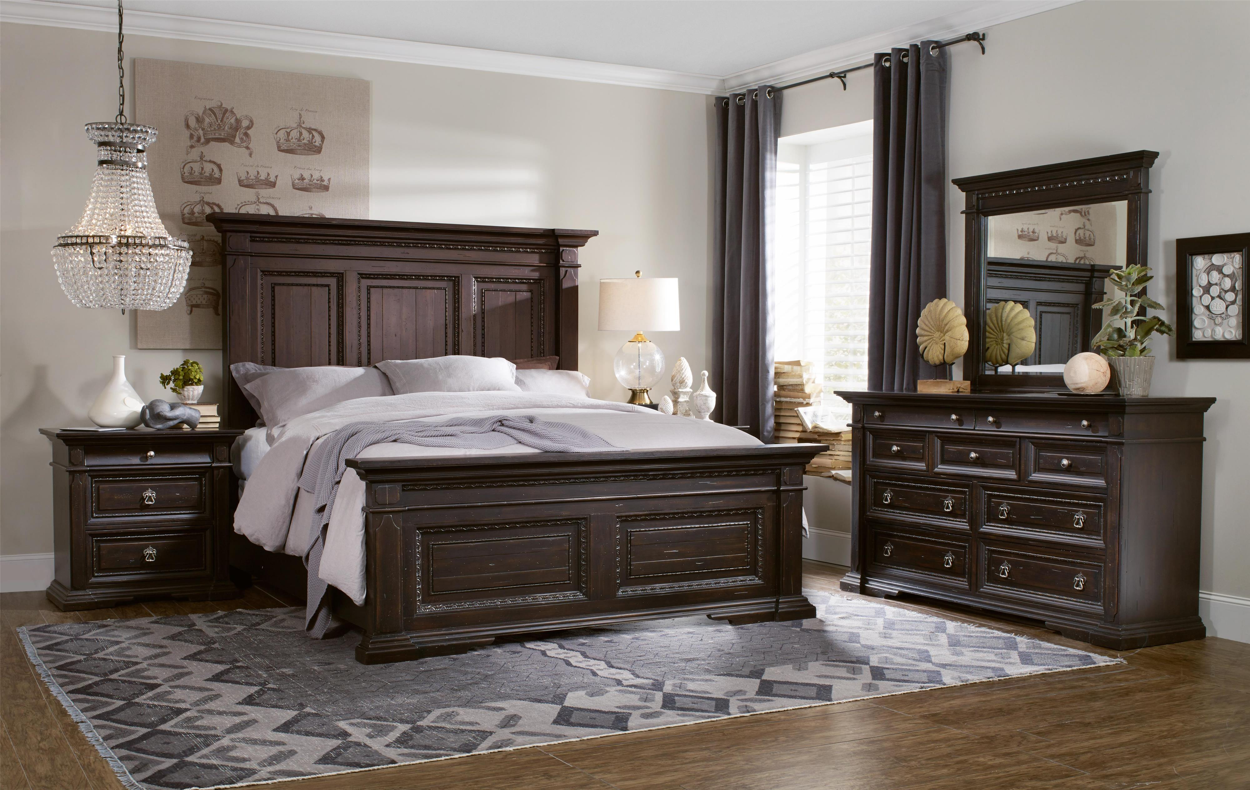 Hooker Furniture Treviso California King Bedroom Group - Item Number: 5374 CK Bedroom Group 2