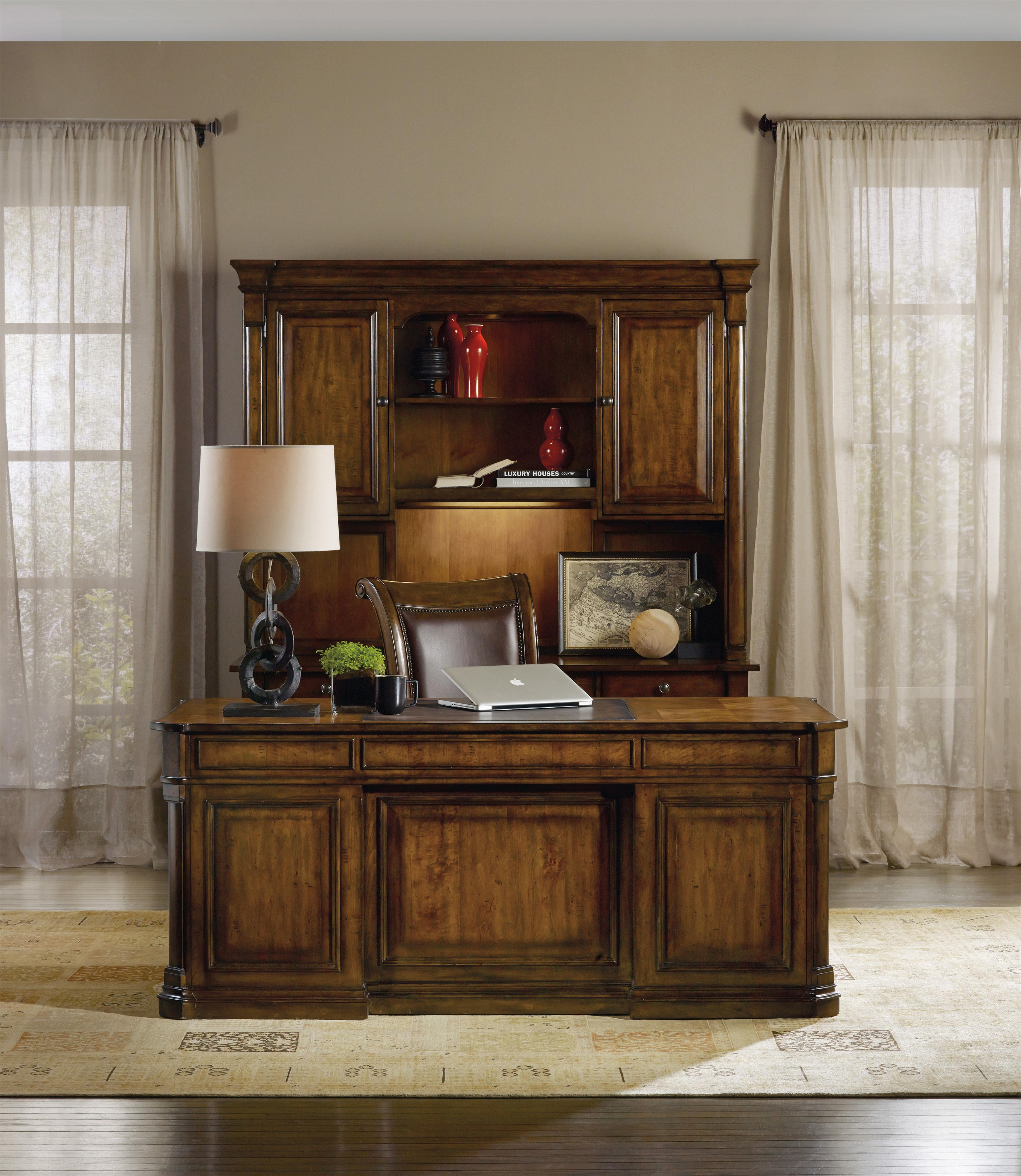 furniture b desk hooker cherry item executive belfort creek traditional products number