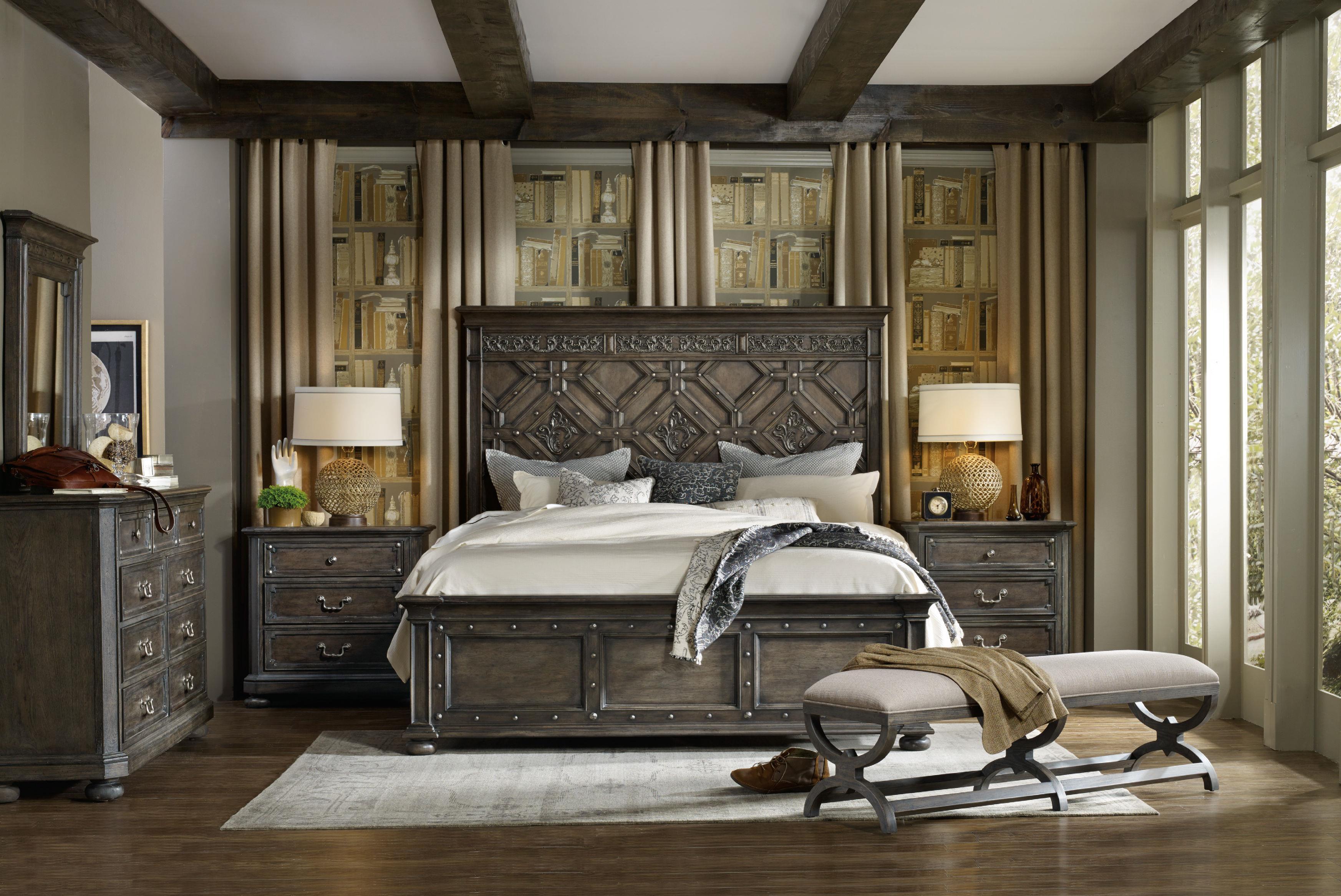 Homestyle Furniture Kitchener Hooker Furniture Vintage West King Bedroom Group Stoney Creek