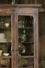Elegant Seeded Glass Doors