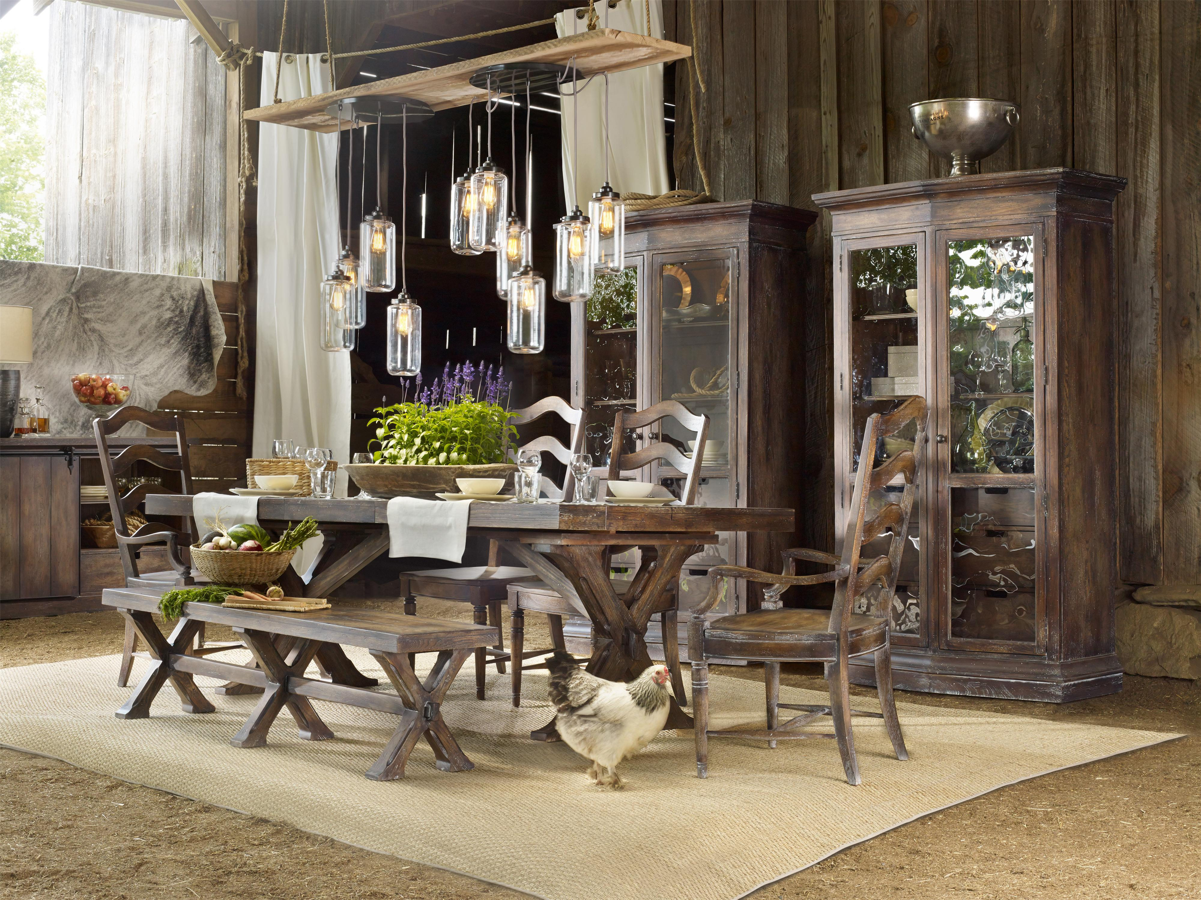 Hooker Furniture Willow Bend Formal Dining Room Group - Item Number: 5343 Dining Room Group 1
