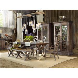 Hooker Furniture Willow Bend Formal Dining Room Group
