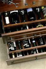 Ball Bearing Drawers Hold 38 Wine Bottles