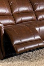 Full Pad-over-Chaise Seat with Contrast Stitching