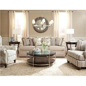 Huntington House 2081 Fabric Upholstered Chair and a Half