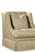 Deep, Button-Tufted Back with Complementing Toss Pillow