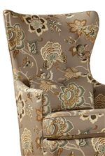 Wing-Back Chair has a Touch of Classic Appeal