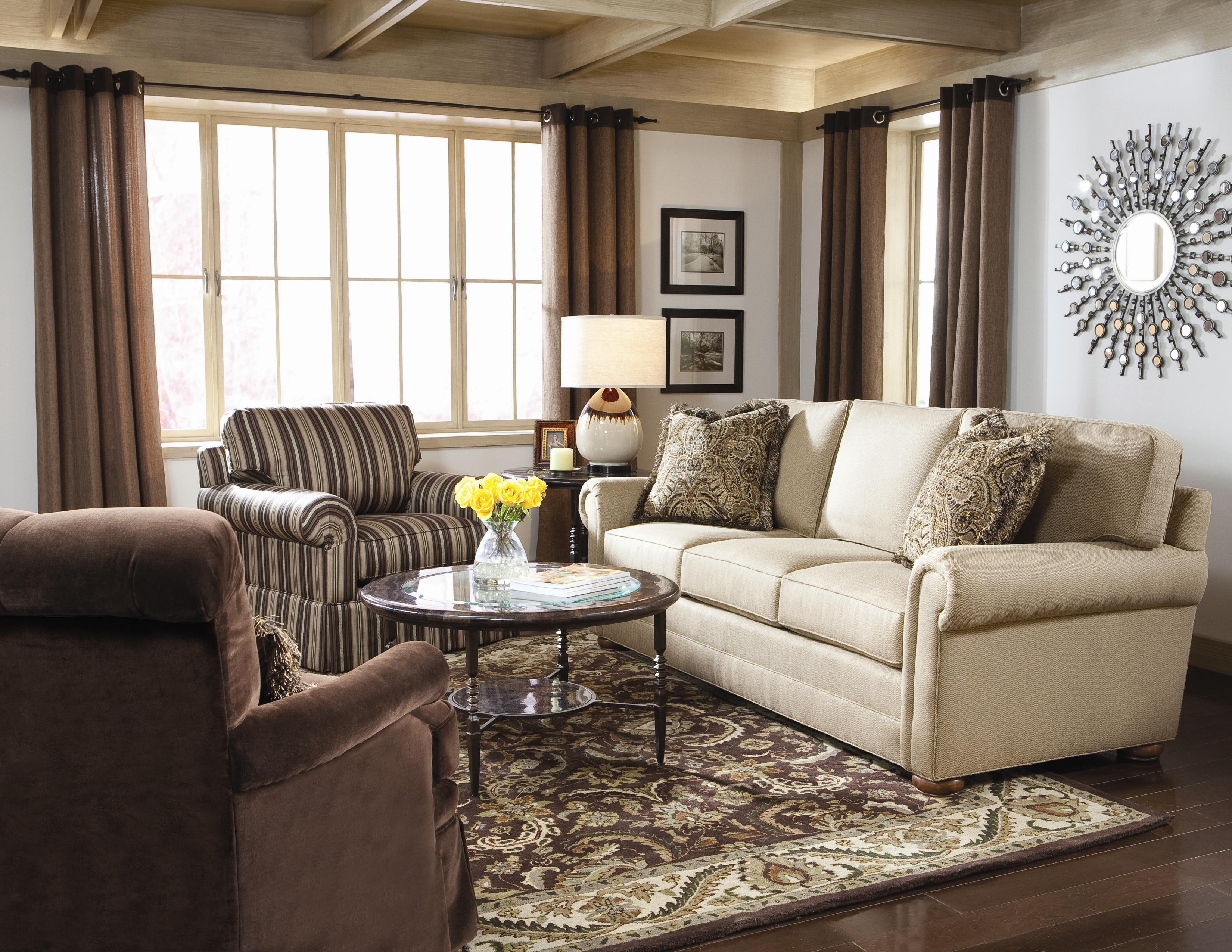 Huntington House Solutions 2053 Customizable Sectional Wayside