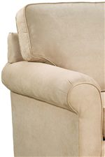 Smooth Casual Angles Create a Soft Upholstered Look