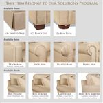 The Solutions Program Allows Homeowners to Choose From an Assortment of Upholstery Features for Superior Customization that Meets Individual Styles