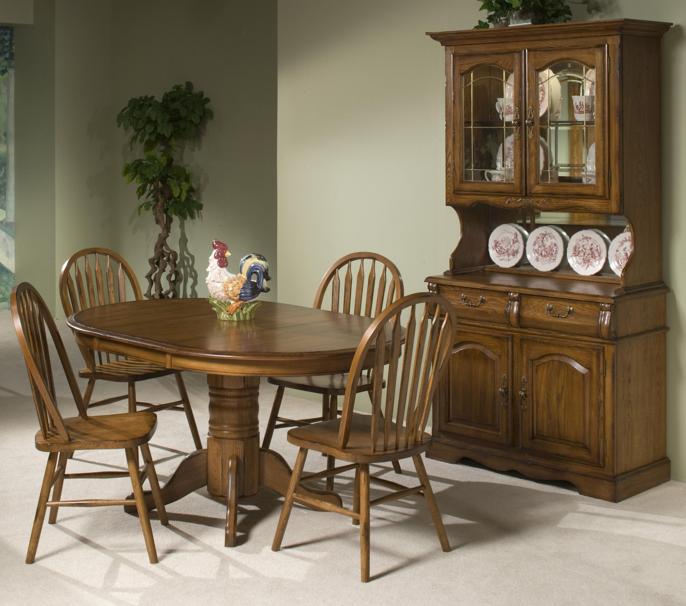 Intercon Classic Oak Casual Dining Room Group - Item Number: CO BRU Dining Room Group 2