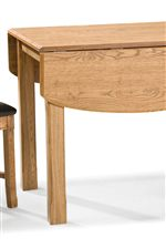 Drop Leaf Table is Easily Adjustable and Gives More Table Top Space when Needed