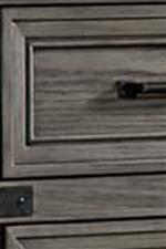 Framed Drawer Fronts Add Depth