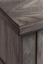 Solid Wood Edge Band Adds Durability
