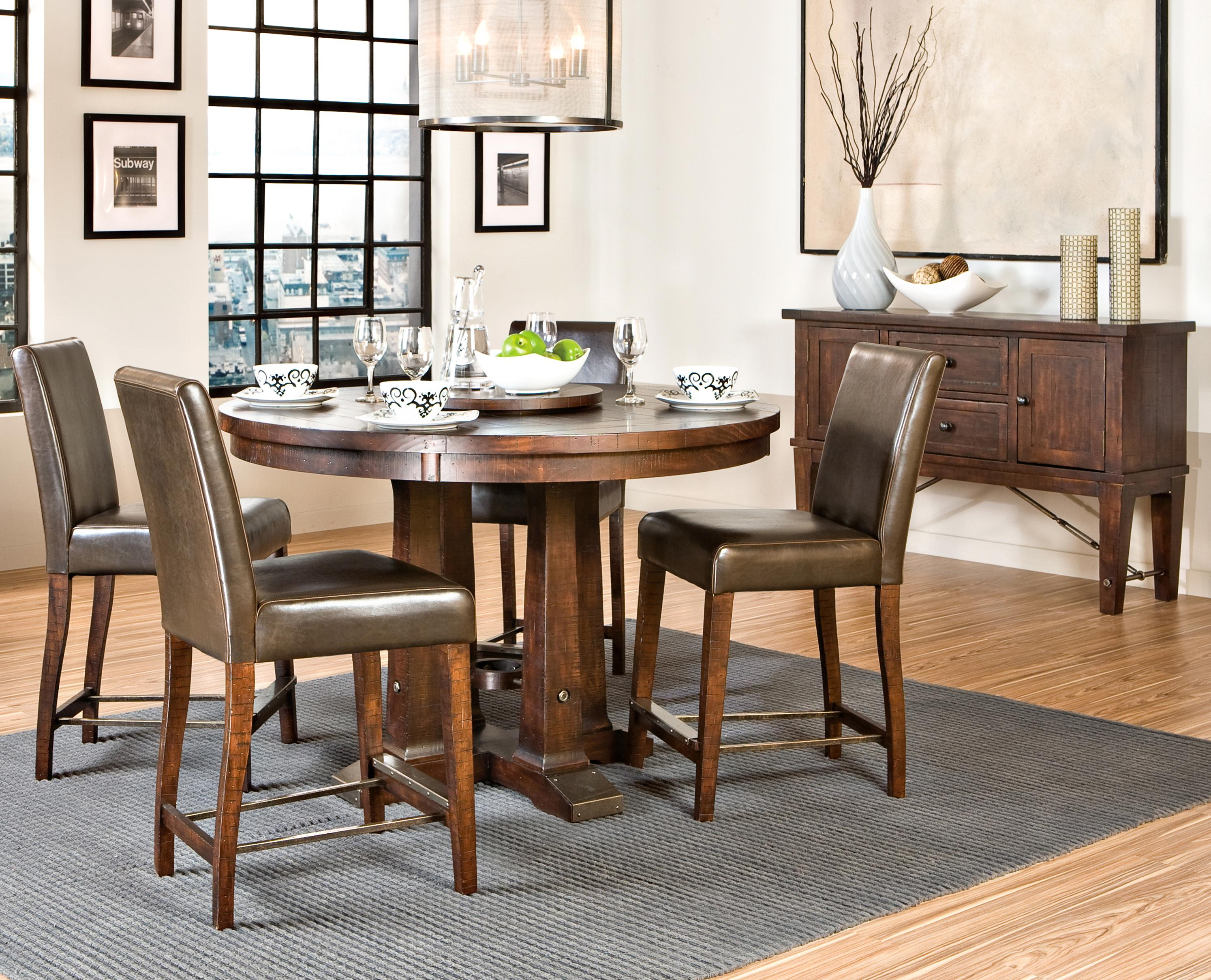 Beau Intercon Hayden Trestle Dining Table With Metal Table Slides | Wayside  Furniture | Dining Room Table