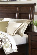 Sleigh Headboards with Panel Design