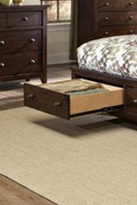 Optional Bed Storage