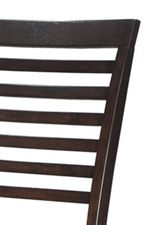 Thin Stripe Ladder Back Chairs