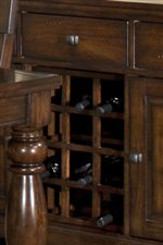 Wine Rack within Server