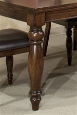 Long, Sturdy Turned Table Leg