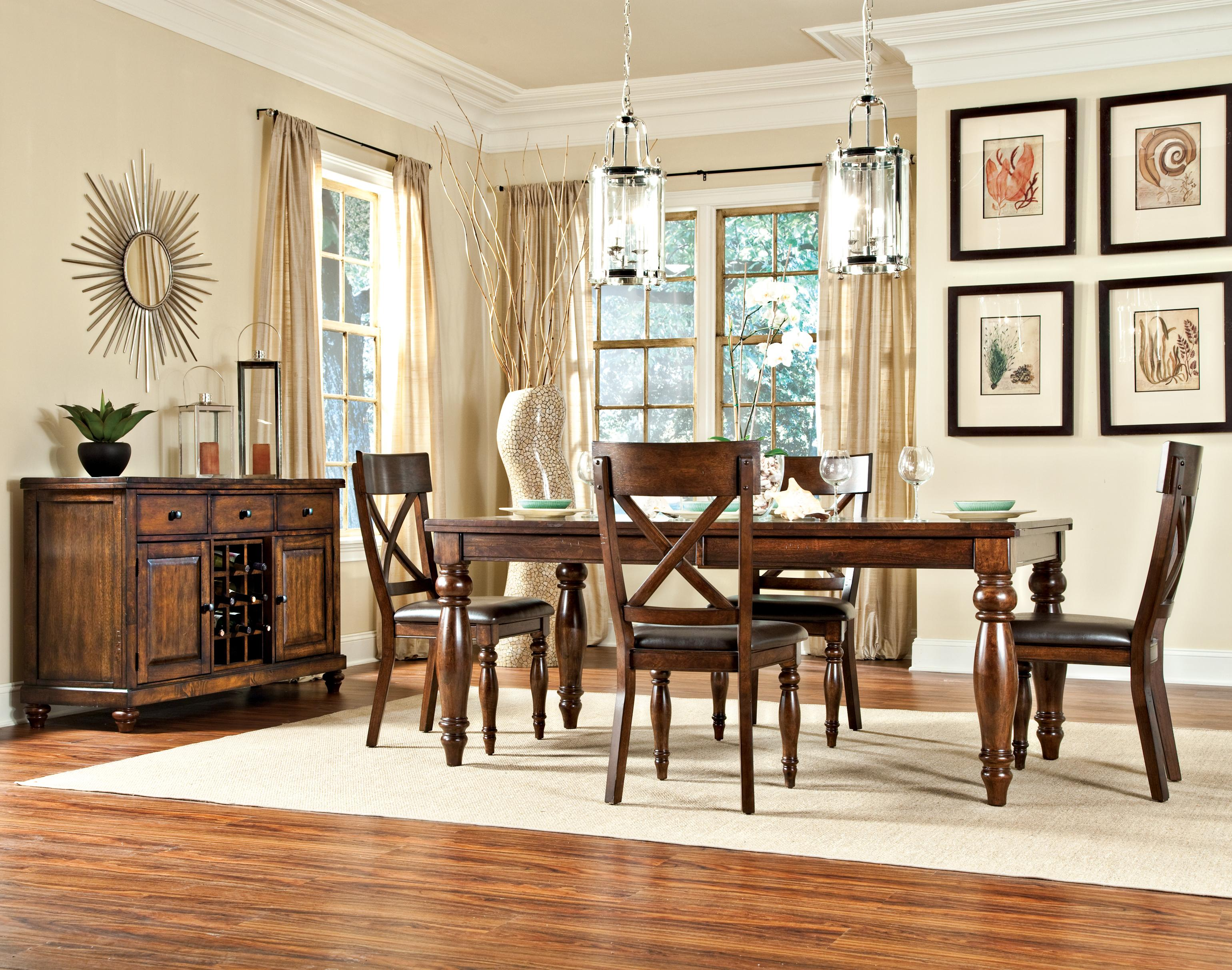 intercon kingston casual dining room group fisher home furnishings casual dining room group