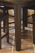 Tapered Square Table Leg