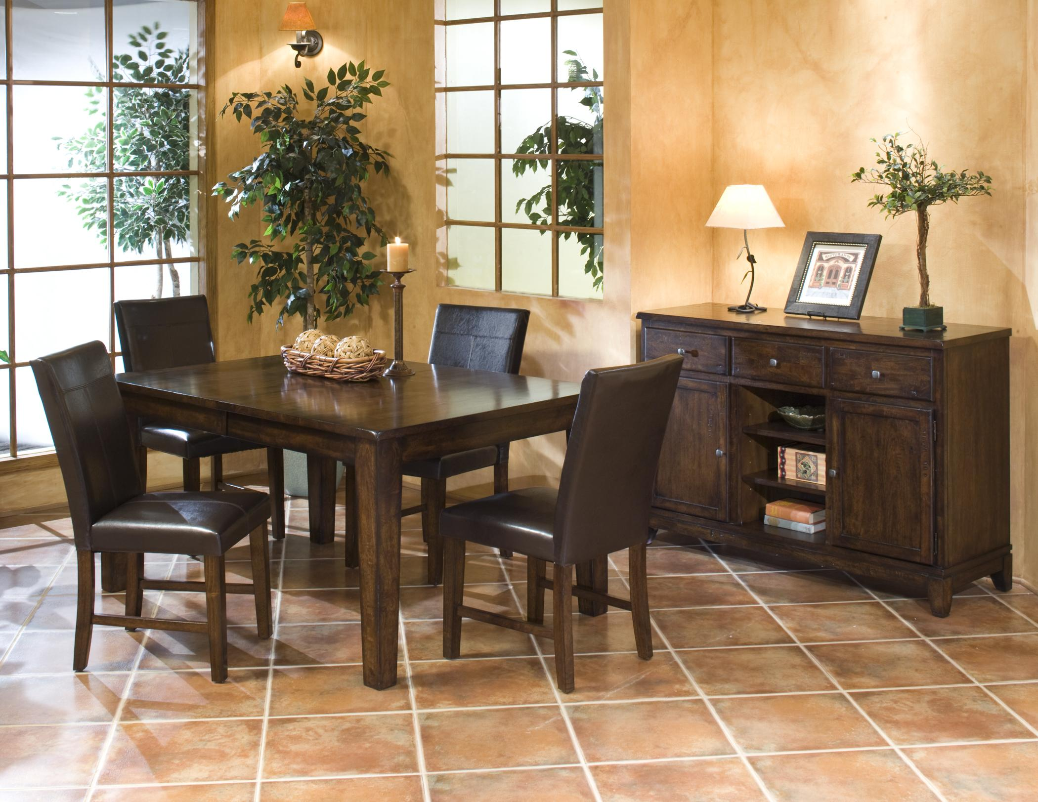 Intercon Kona Casual Dining Room Group - Item Number: KA Dining Room Group 2