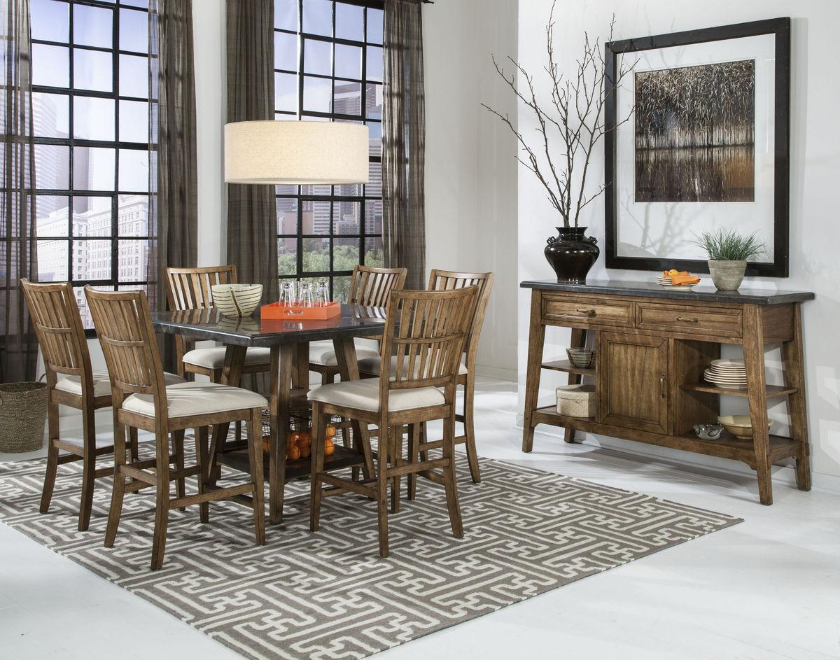 Intercon Lucca Dining Room Group - Item Number: LU Dining Room Group 2