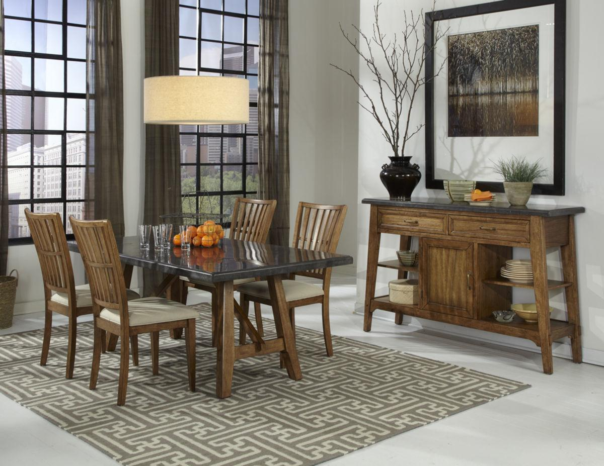 Intercon Lucca Dining Room Group - Item Number: LU Dining Room Group 1