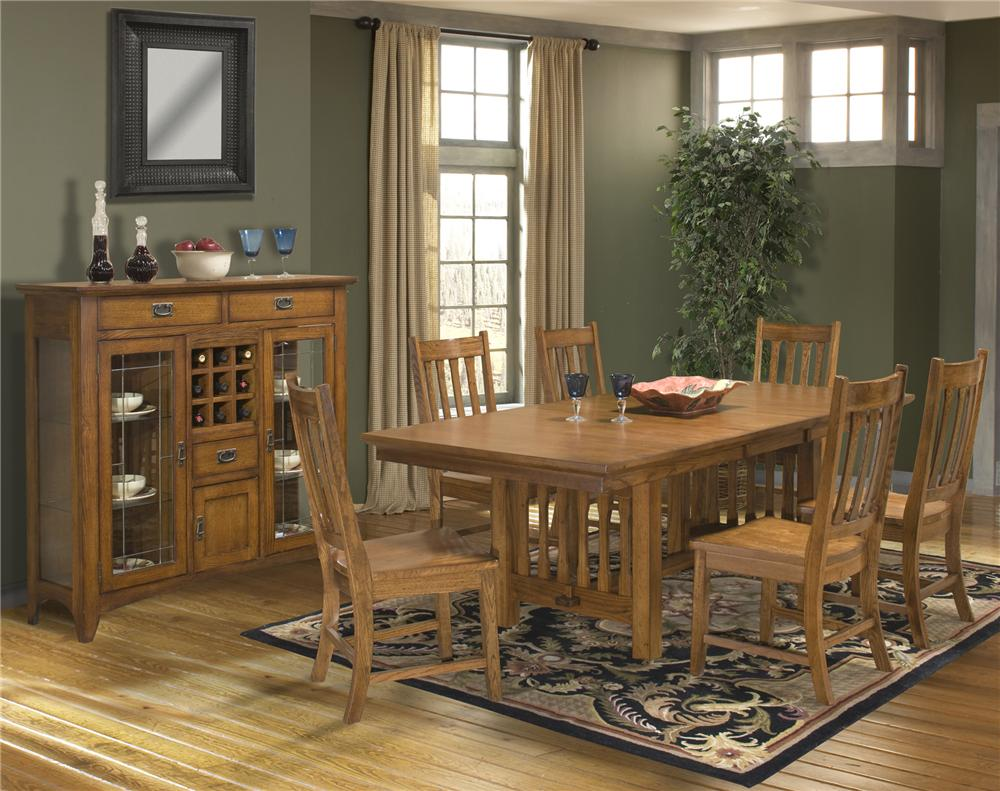 Intercon Mission Leopold Casual Dining Room Group - Item Number: MD Dining Room Group 1