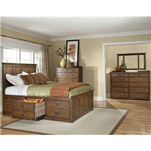 Intercon Oak Park King Bedroom Group