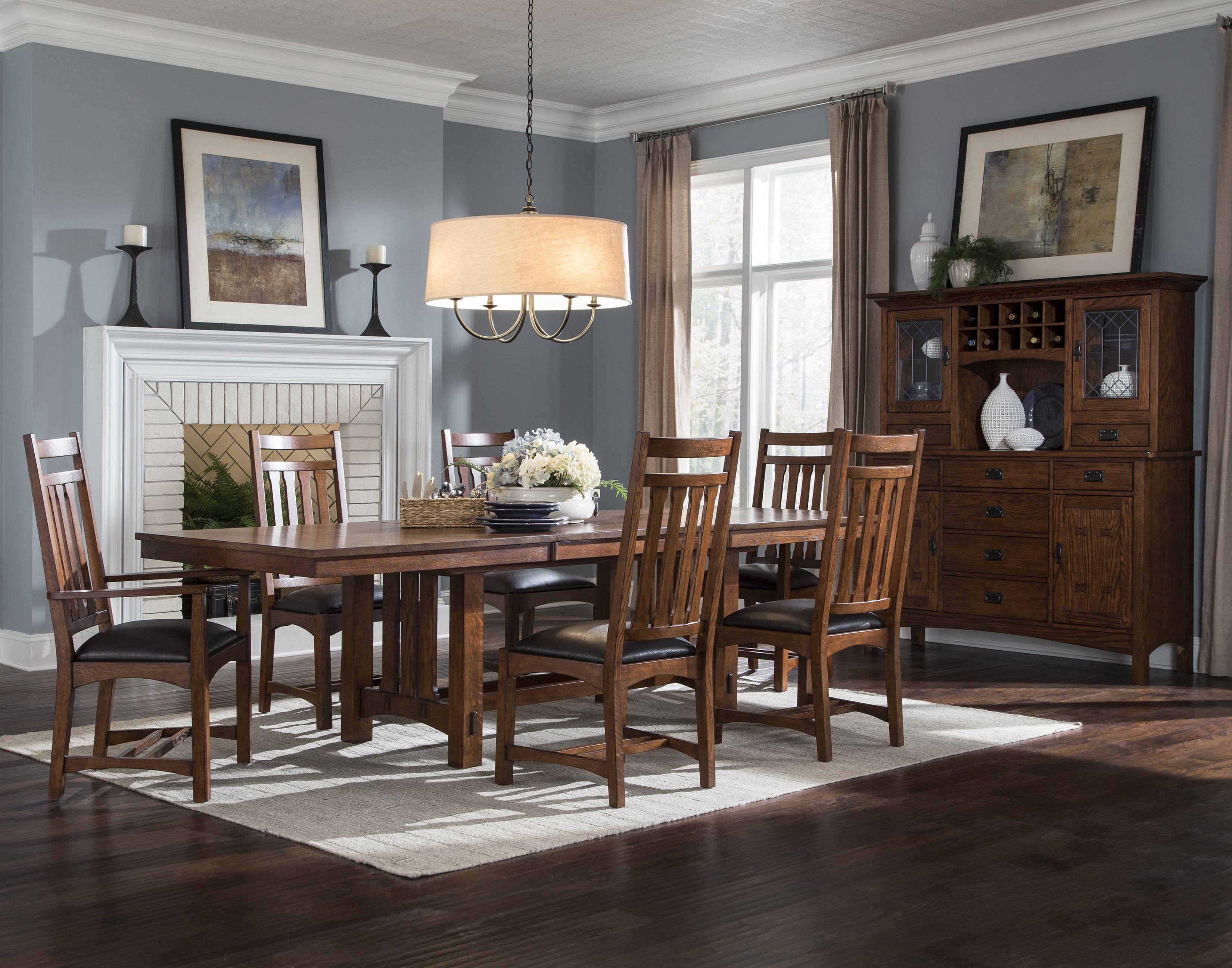 Intercon Oak Park Formal Dining Room Group - Item Number: OP Dining Room Group 1
