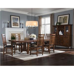 Intercon Oak Park Formal Dining Room Group